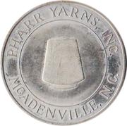 Token - 25th Anniversary of Pharr Yarns, Inc. (McAdenville, North Carolina) – obverse