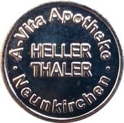 Heller Thaler - A-Vita & Hellerthaler-Hirsch Apotheke – obverse
