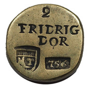 Coin Weight - Friedrich d'Or (Prussia) – obverse