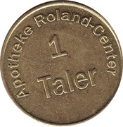 1 Taler - Apotheke Roland-Center – reverse