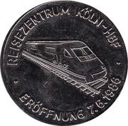 Token - Reisezentrum Köln-Hauptbahnhof / Bundsbahnfährschiff Karl Carstens – obverse