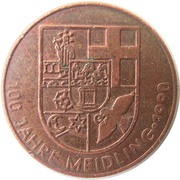 Token - Meidling (100 years) – obverse