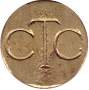 Telephone Token - CTC (without arrow) – obverse