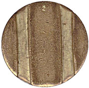 Telephone Token - CTC (cropped arrow, down) – reverse