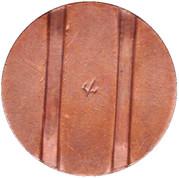 Telephone Token - CTC (whole arrow, down) – reverse