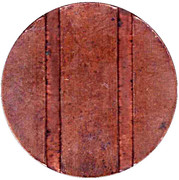 Telephone Token - CTC (arrow up; bronze large type) – reverse
