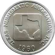 Token - Texas Numismatic Association (58th convention 2016) – reverse