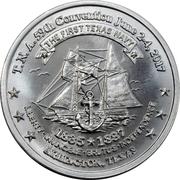 Token - Texas Numismatic Association (59th convention 2017) – obverse