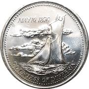 1 Dollar - Cobourg, Ontario – reverse