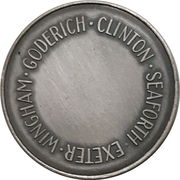 Medal - Huron County Numismatic Association – reverse