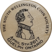Token - South Wellington Coin Society (20th Anniversary) – obverse