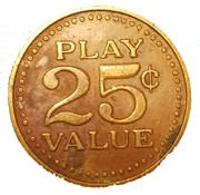 25 Cents (Play Value) – reverse