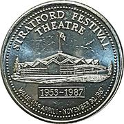 1 Dollar - Stratford, Ontario – obverse