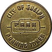 25 Cents Parking Token - Downtown Guelph parking – obverse