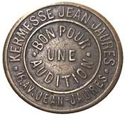 Phonograph Token - Kermesse Jean Jaurès – reverse