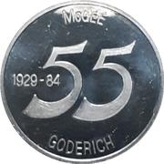Token - McGee Motors (Goderich, Ontario) – reverse