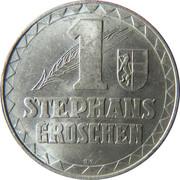 1 Stephansgroschen (Salzburg) – reverse