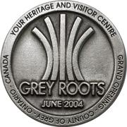Token - Grey Roots Grand Opening (Owen Sound, Ontario) – obverse