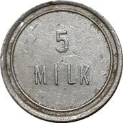 5 Milk - F.E. Teel – reverse