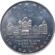 Token - Ontario Liberal Party (Eddie Sargent M.P.P.) – obverse