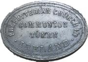 Communion token - Presbyterian Church in Ireland – obverse
