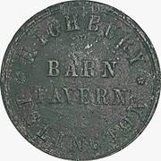 6 Pence - Highbury Barn (London) – obverse