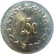 25 Cents - Casino Apollonia (Gevgelija) – reverse