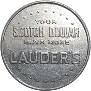 Scotch Dollar - Lauder's Scotch – reverse