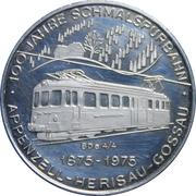 Token - 100 Year Anniv. Schmalspurbahn Railway – obverse