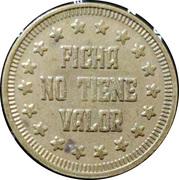 Token - Ficha No Tiene Valor (23 mm) – reverse