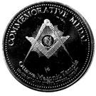 Token - Ottawa Masonic Temple 1912-1975 – reverse
