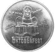 Token - Oktoberfest (Kitchener-Waterloo 1970) – obverse