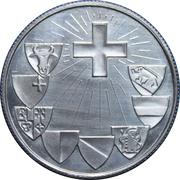 Medallion - 600 Year House of God - Bishop of Chur – obverse