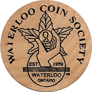 Token - Waterloo Coin Society (Canada 150) – reverse