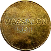 Laundry Token - Wassalon  L.D.L. (10K) – obverse