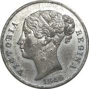 Medal - Victoria Regina / König V. Preussen – obverse