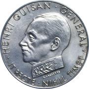 Medallion - Lausanne (Swiss General Henri Guisan) – obverse