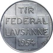 Medallion - Lausanne (Swiss General Henri Guisan) – reverse