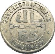 Token - Gewerkschaftsheim (Rumelange) – reverse