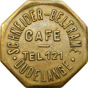 Token - Café Schneider-Beltrame (Dudelange) – obverse