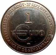 1 Euro (Obernai / Gengenbach) – obverse