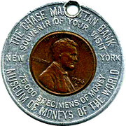 Encased Token - Museum of Moneys of the World (The Chase Manhattan Bank) – obverse
