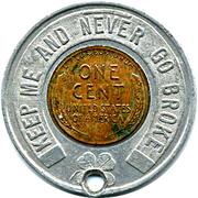 Encased Token - Museum of Moneys of the World (The Chase Manhattan Bank) – reverse