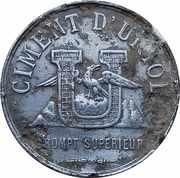 Token - Ciment Berthelot (Grenoble) – reverse