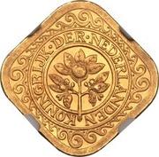 5 Cents - Wilhelmina (1935 Gold Coin) – obverse