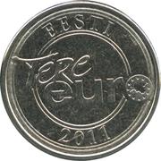 Token - Tere Euro -  obverse