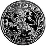 1 Lion Daaler (Restrike) – reverse