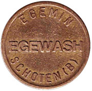 Car Wash Token - Egemin (Schoten) – obverse