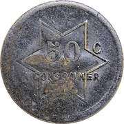 50 Centimes - A Consommer (Star) – obverse