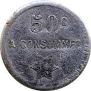 50 Centimes - A Consommer (Star) – reverse
